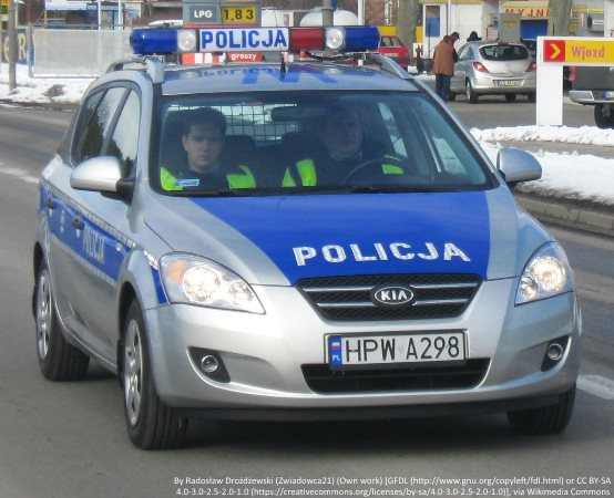 Policja Tarnowskie Góry: Nierzeźwy i pod wpływem narkotyków zatrzymany w policyjnym pościgu