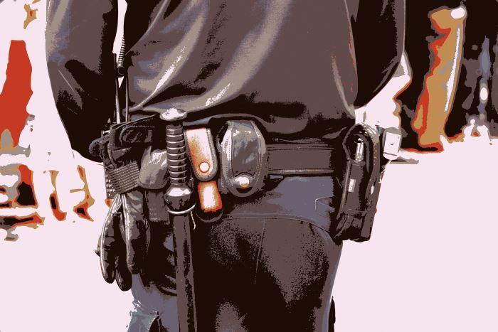 Policja Tarnowskie Góry: Wandal zatrzymany przez policjantów
