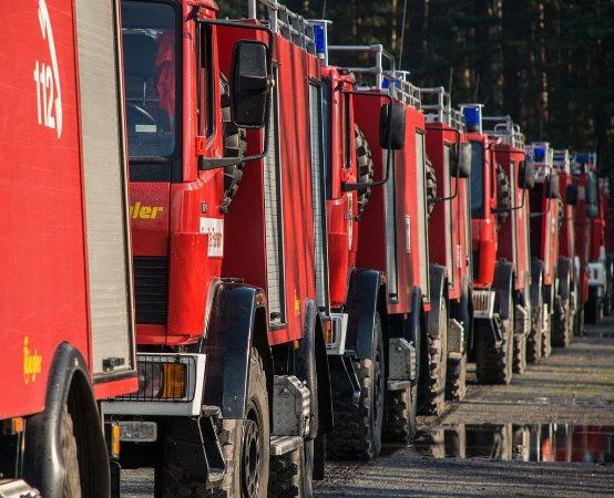 KPPSP Tarnowskie Góry: Interwencje 09.05.2020